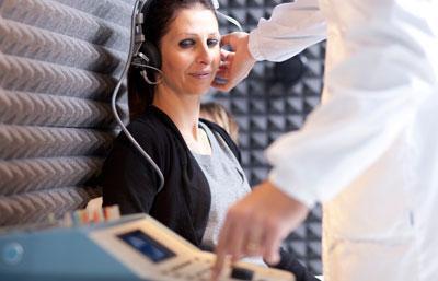 Процедура аудиометрия