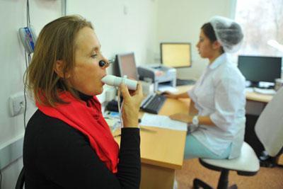 Диагностика при астме