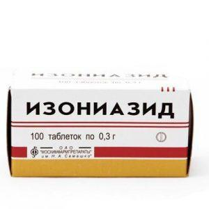Таблетки от туберкулеза Изониазид
