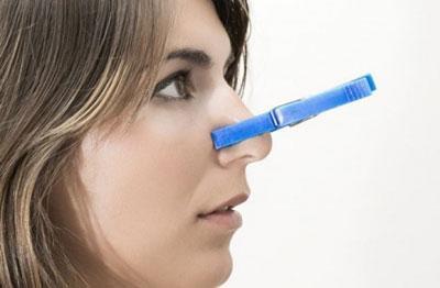 Невозможность дыхания через нос