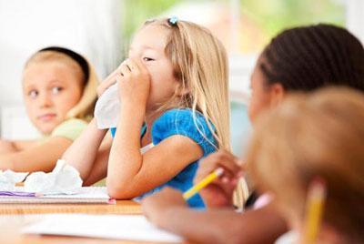 Больной ребенок в классе