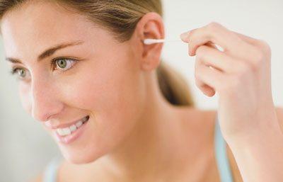 Чистка уха