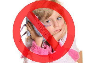 Запрет на прогревание уха