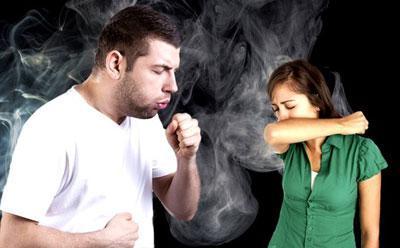 Табачный дым и кашель