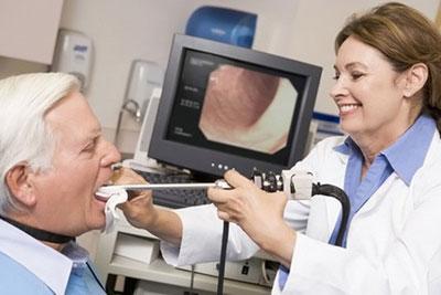 Процедура ларингоскопии