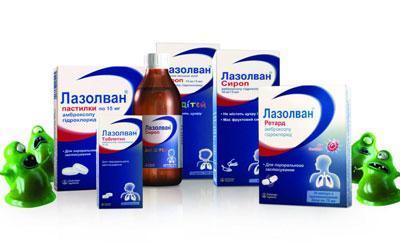 Препараты лазолван