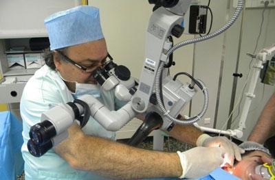 Операция при отосклерозе