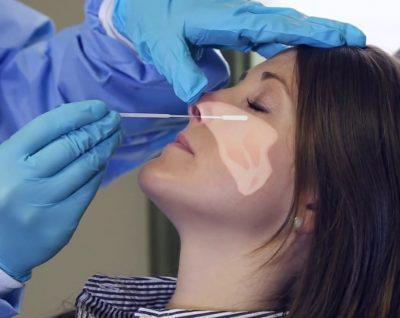 Взятьмазок из носа на стафилококк