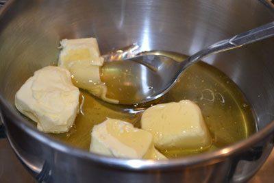 Сливочное масло с медом