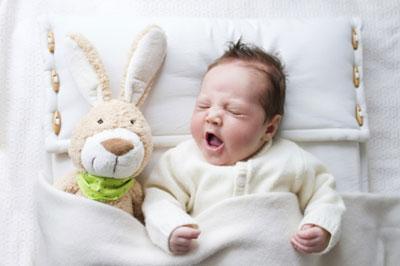 Малыш тяжело дышит
