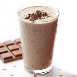 Шоколадно-молочный коктейль