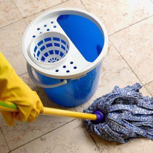 Осуществлять регулярную влажную уборку дома