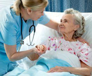 Пожилой в больнице