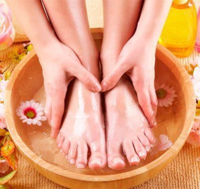 Аппликации и ножные ванночки для улучшения обоняния