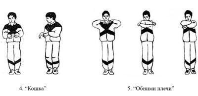 Упражнения по стрельниковой