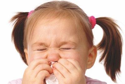 Жжение в носу у ребёнка