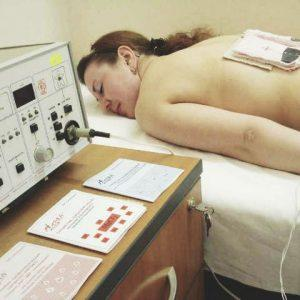 Электрофорез груди