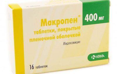 Препарат макропен