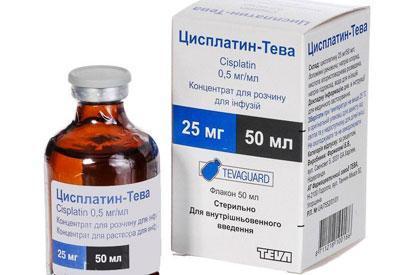 Препарат цисплатин для химиотерапии