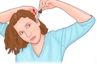 Правило лечения уха каплями