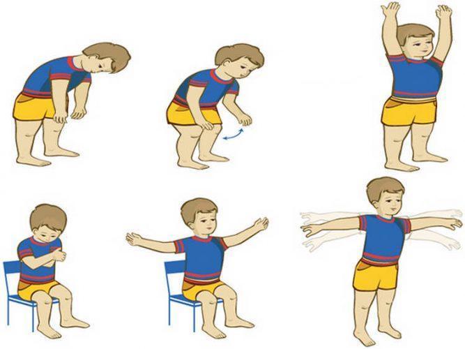 Лечебная физкультура для ребенка после пневмонии