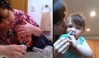 Промывание носа по комаровскому