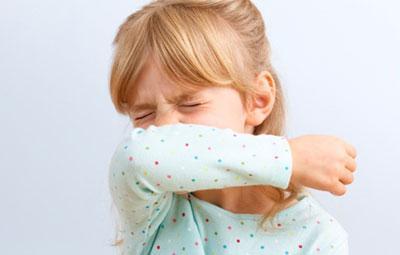 Ребенок чихнул