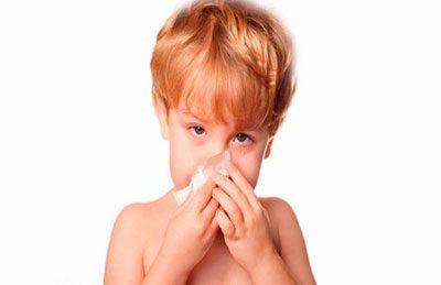 Назофарингит у ребенка