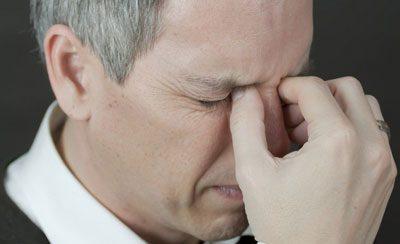 Острая боль при гайморите