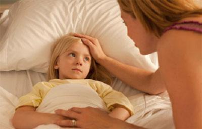 Постельный режим для ребенка