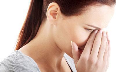 Боль при синусите
