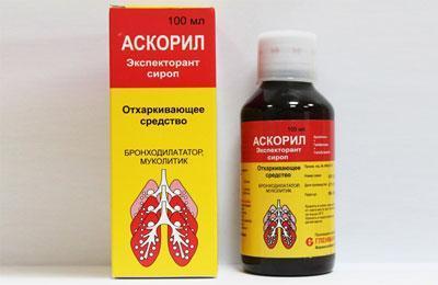Препарат аскорил