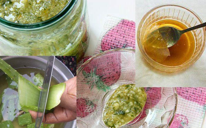 Приготовление алоэ с медом