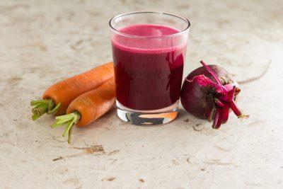 Сок свёклы и моркови