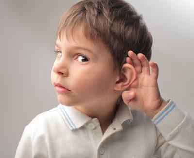 Снижение слуха у ребенка