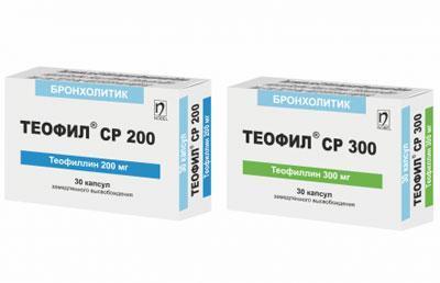 Препарат теофил