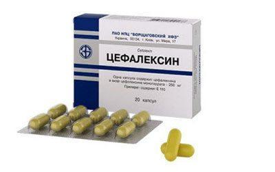 Препарат цефалексин
