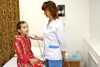 УВЧ при ангине
