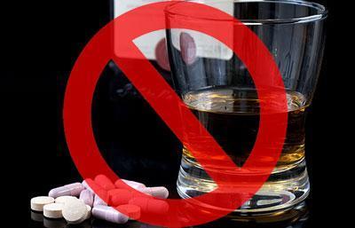 Запрет на алкоголь с лекарствами