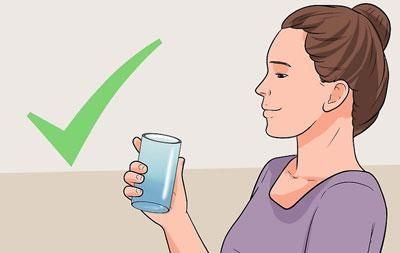 Подготовка к полосканию горла
