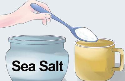 Приготовление солевого раствора