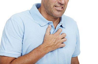 Чувство сдавленности в груди