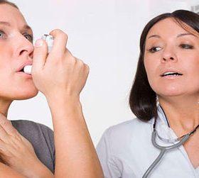 Как проходят занятия в астма-школе