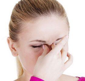 Боли в переносице: причины лечение