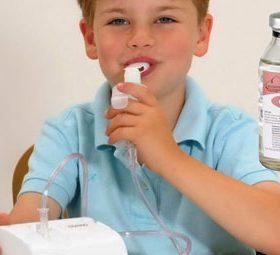 Ингаляции с аминокапроновой кислотой при лечении детей