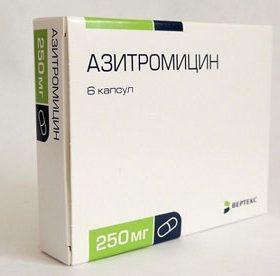 Лечение пневмонии Азитромицином